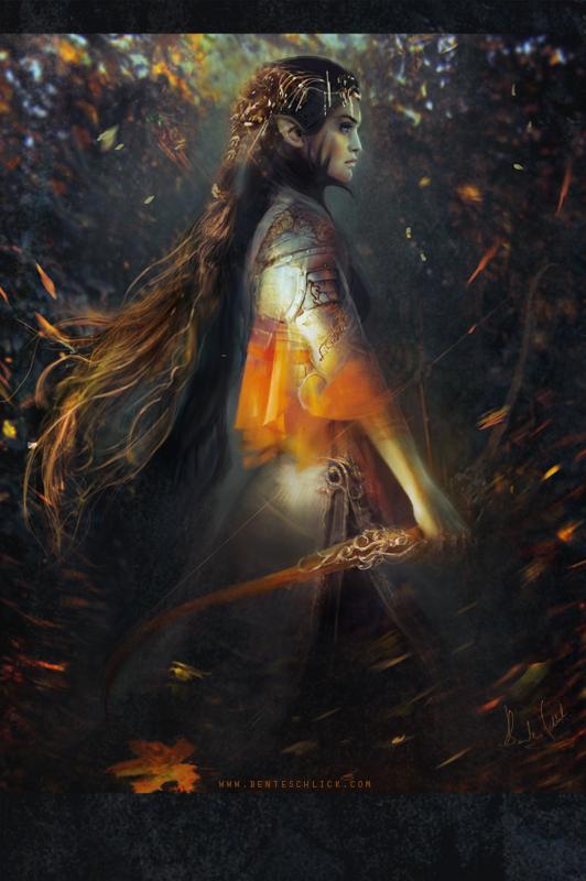 Phoenix by Bente Schlick